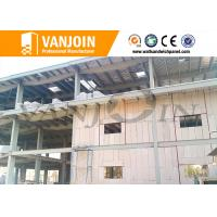 China Steel structure eps foam panels , concrete soundproof wall panels house solution on sale
