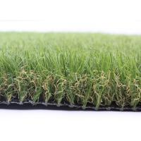 Quality 16800 Density Landscaping Artificial Grass 40MM Diamond Shape Synthetic Garden Grass for sale