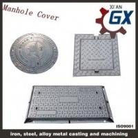 China GX Provide Casting Circular Sealed Manhole Cover for Gas Station on sale