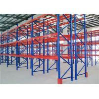 Quality Selective Multiple Levels / Heavy Duty Pallet Racking System For Flagstaff Storage for sale