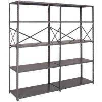 Quality Wide Convenience Store Storage Shelving Racks Steel Storage Shelves Durable for sale