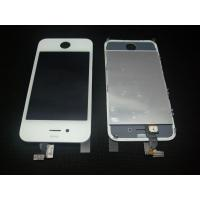 Quality White Touch screen Digitizer LCD Assembly for IPhone 4 for sale