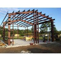 Quality Shock Resistant Steel Building Frame , High Strength Steel Space Frame Structures for sale