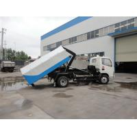 Quality 4cbm hydraulic lifting mini garbage truck for sale for sale