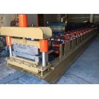 Quality 460 Standing Seam Roll Forming Machine , Profile Roofing Sheet Making Machine India Design for sale