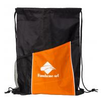 Quality New Hot Selling Polyester Drawstring Bag with Pocket-HAD14022 for sale