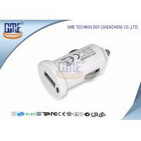 Buy Portable USB Car Charger Single Port Switching Power Adapter 5V 1A at wholesale prices