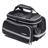 Quality 25L Retro Oxford Leisure Travel Bag Bicycle Carrier For Night Rider Safe for sale