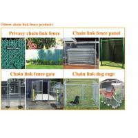 Others chain link fence products:
