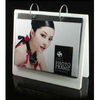 Quality white calender shape acrylic collage photo frames for sale