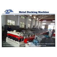 China Metal Decking Roll Forming Machine Steel Structure sheet on sale