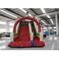 Quality Inflatable Rutsche Kids Blow Up Water Slide , Colourful Water Bounce House for sale
