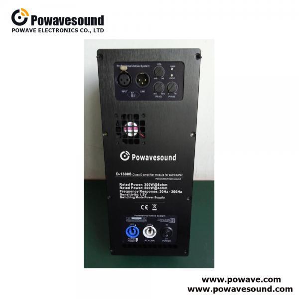 Buy D-1300S, speaker power amplifier module class D plate amplifier for subwoofer at wholesale prices
