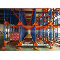 Quality Powder Coating Pallet Runner System , Automated Racking System High Pallets Turnover Efficiency for sale
