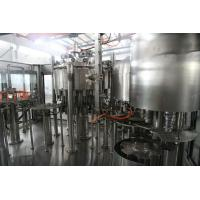 Quality 4 in 1 non-carbonated juice Pulp Piston Filling monoblock Machine 304 stainless steel for sale