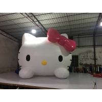 Quality Parties And Events Inflatable Advertising Signs / Hello Kitty Blow Up Cartoon for sale