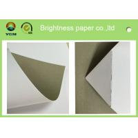 Quality 250gsm 0.31mm Printed Cardboard Sheets , Recycled Mixed Pulp A4 Cardboard Paper for sale