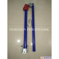 Quality Push Pull Brace Wall Formwork Systems , Powder Coated Wall Shuttering System for sale
