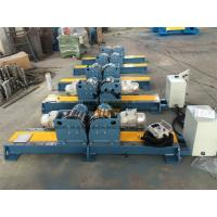 China PU Wheel Automatic Tank Turning Rolls With Control Cabinet 10 Ton on sale