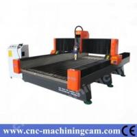 Quality 2D/3D effects servo marble stone cnc router ZK-1325(1300*2500*300mm) for sale