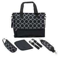 Quality Environmental Multi Function Yummy Mummy Bag With Polyester Surface Fabric for sale