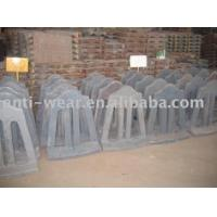 Quality Retension Ring Liners for Cement Mill Hardness More than HRC52 Coal-fired Power Plant for sale