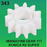 Quality 385002216B / 3850 02216B GEAR TEETH-11 FOR KONICA R2 SUPER minilab for sale