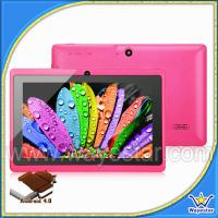 Quality Cheap android 4.0 Tablet PC with colorful,dual cameras for sale