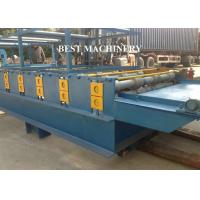 Buy SGS Roof Tile Roll Forming Machine Color Steel Glazed , double layer roll forming machine at wholesale prices