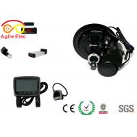 Quality 350W TSDZ2 Mid Crank Electric Bicycle Motor Kit With Rear Rack Type Battery for sale