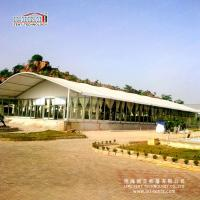 Quality Arch roof aluminium tent for outdoor wedding events in Africa for sale
