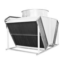 Quality copper tube heat exchanger radiators air flow fin fan dry cooler for HVAC industry for sale