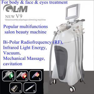 China V9 Velashape Vacuum Slimming Machine Bi-Polar For Body & Face & Eyes Treatment on sale