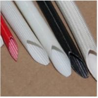 China Silicone rubber coated fiberglass insulating Tube on sale