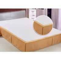 Quality Customized Size Hotel Bed Skirts Detachable OEM / ODM Available for sale