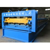 Buy Metal Profile 915 Floor Deck Roll Forming Machine 22kw Power 0.6mm - 1.5mm at wholesale prices