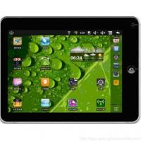 Quality Wireless Android 2.2 256M 1pc Mic Hole Resistive tablet pc with 1.3 Mega Camera for sale