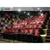 Quality 4D 5D Movie Theater with Bubbles / Wind / Snow / Smoke/ Fog Effect for sale