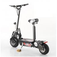 Quality 140mm Disc Brakes Front / Rear 36V Folding Electric Scooter Bike 1000w for sale
