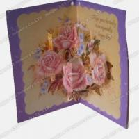 Quality Pop-up Greeting cards S-1201 for sale
