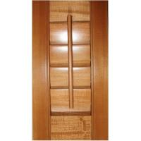 Quality Plantation Stained Exterior Decorative Adjustable Louver Window Shutter for sale
