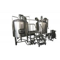 Quality 300L Stainless Steel Small Brewing Equipment Beer Fermentation Cooling Jacket for sale