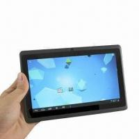 China Super Slim Android 4.0 7-inch Tablet PC, Allwinner A13 1.2GHz 512MB 4GB, Wi-Fi USB, 3G, 1.3MP Camera on sale