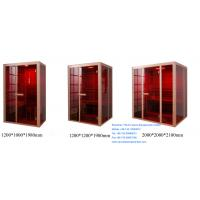 Quality 1200mm x 1000mm x 1980mm Far Infrared Sauna Cabin for sale