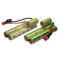 Quality 600mAh 8.4V NIMH Battery Packs , Air Soft Gun Battery With Capacity for sale
