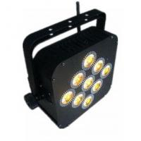 Quality 9*18W 6 In 1 RGBWA UV Stage Par Light 6/10CH IP20 Auto Master Slave for sale