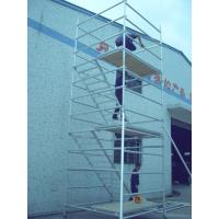 Quality Outdoor Instant Upright Scaffolding , 48.3mm Diameter Layher Allround Scaffolding for sale