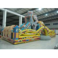Quality Indoor Playground Robot Inflatable Fun City Safe Nontoxic For Amusement Park for sale