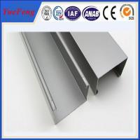 Quality high quality industry aluminium profiles, 6063 t5 aluminum channel extrusion for sale