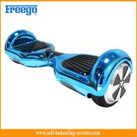 Quality Blue Chrome Plated Two Wheel Hoverboard Self Balance Environmental Protection for sale